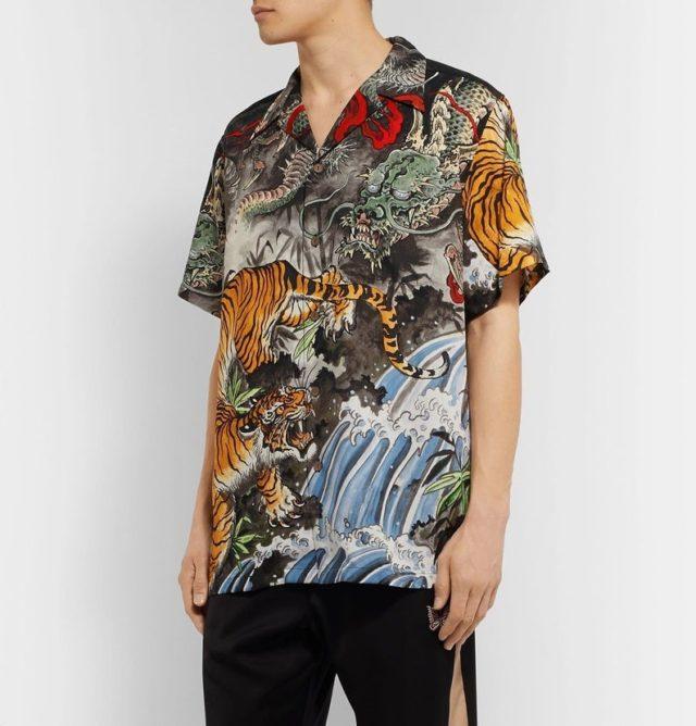 Tim Lehi Rayon Hawaiian Shirt Tiger